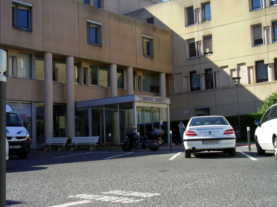Hôpital Larrey - CHU d'Angers