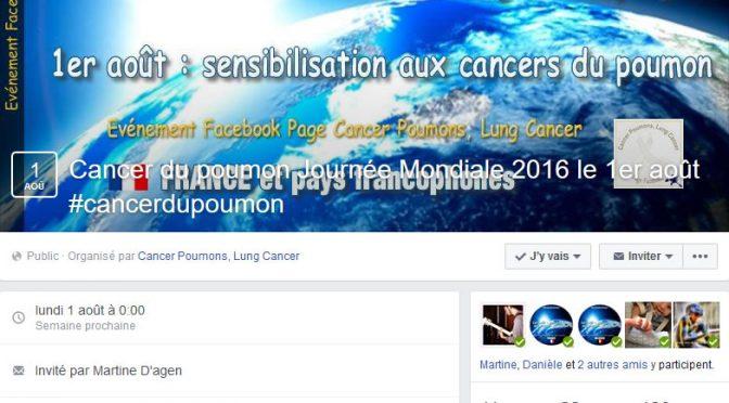 Sensibilisation au Cancer Poumon