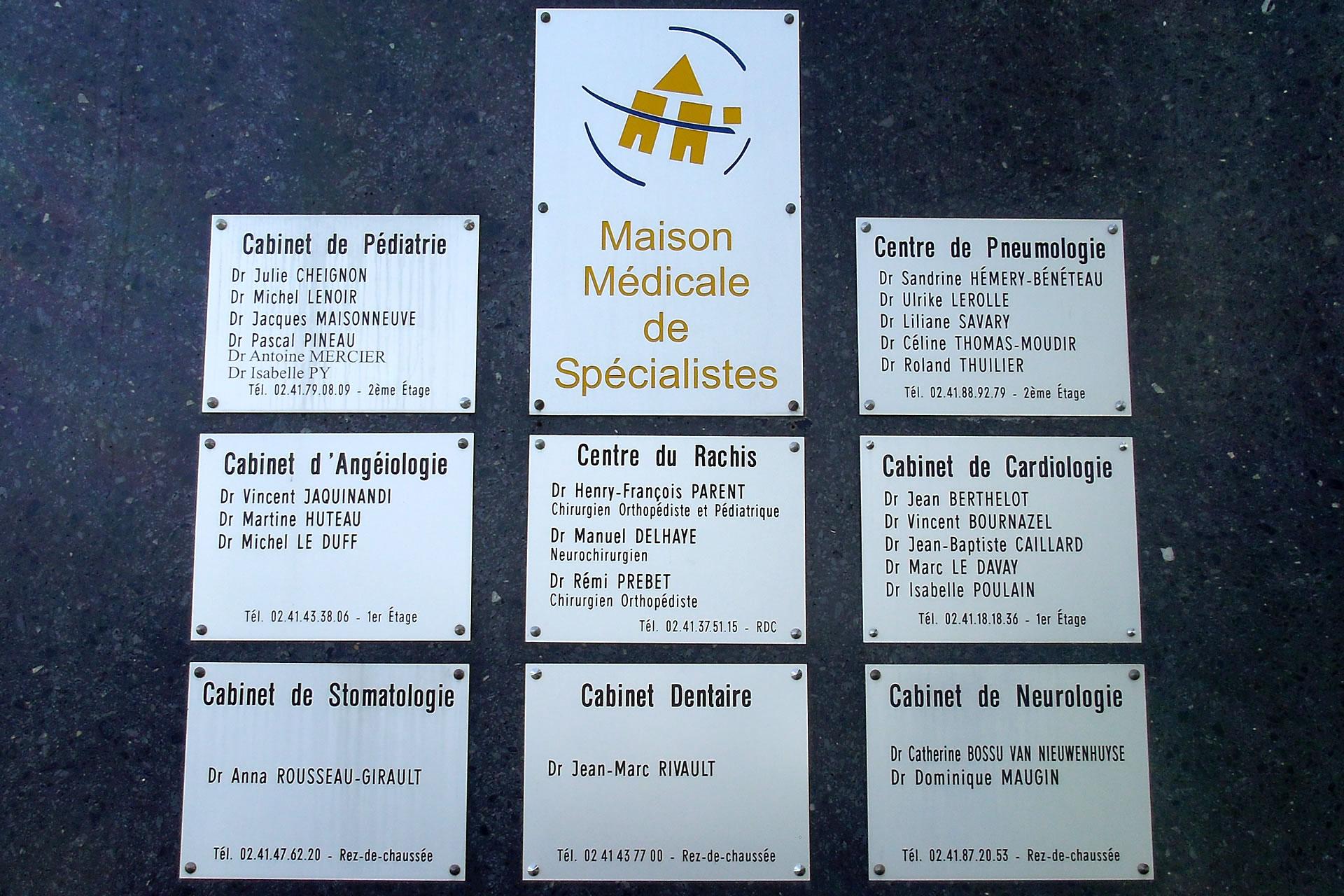 Maison des spécialistes à Trélazé
