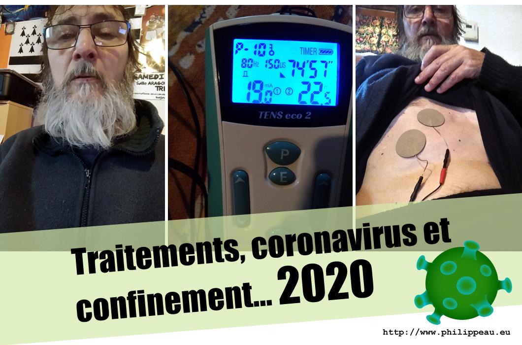 traitement, coronavirus et confinement